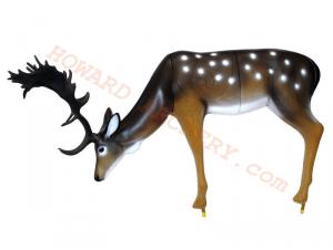 SRT Target 3D Fallow Deer Grazing