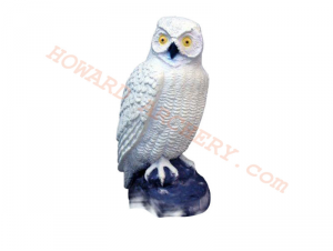 SRT Target 3D White Owl