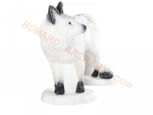 SRT Target 3D Walking White Fox