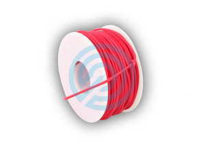 BCY D-LOOP ROPE 0,060 ROUGE BRAIDED POLYESTER 30 METRE