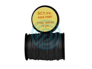 BCY NOCK POINT TYING THREAD (BLACK)