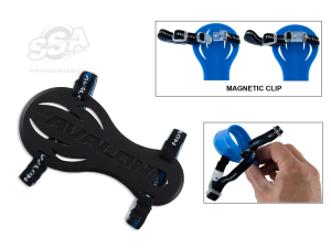 AVALON SMART RUBBER with MAGNET CLIPS BLACK