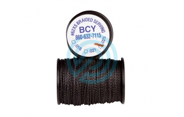 BCY Serving Thread 62-XS  100 Yards Black